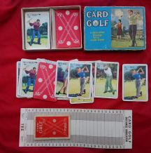 Vintage Collectible Cards game. Card Golf by Pepys circa 1950's